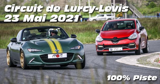 Photos au Circuit de Lurcy levis le 23 Mai 2021 avec 100% Piste