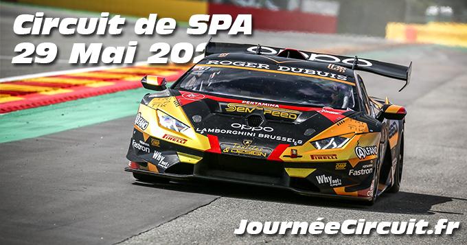 Photos au Circuit de Spa-Francorchamps le 29 Mai 2021 avec Journee Circuit