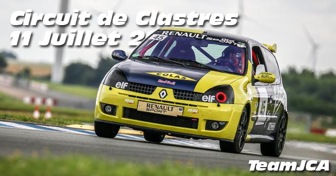 Photos au Circuit de Clastres le 11 Juillet 2021 avec Team JCA