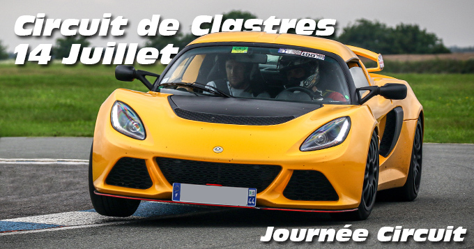 Photos au Circuit de Clastres le 14 Juillet 2021 avec Journee Circuit