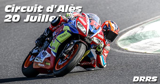 Photos au Circuit d'Alès le 20 Juillet 2021 avec De Radigues Rider School