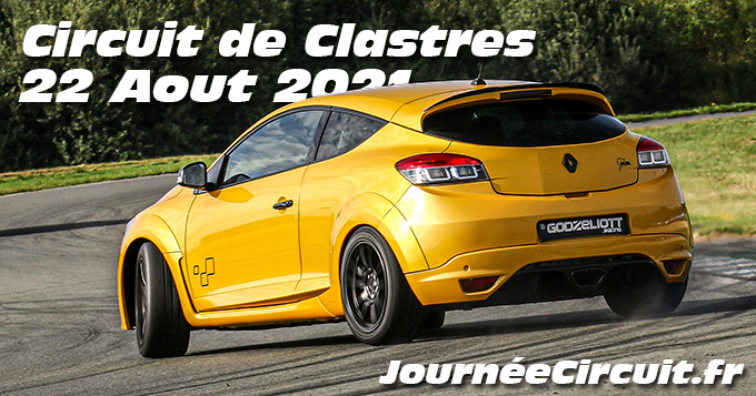 Photos au Circuit de Clastres le 22 Aout 2021 avec Journee Circuit