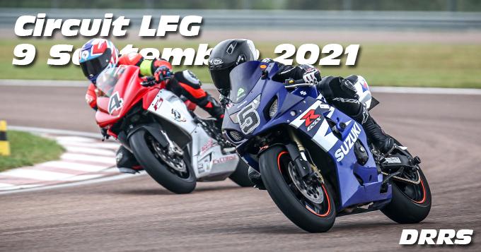 Photos au Circuit LFG de la Ferte Gaucher le 9 Septembre 2021 avec De Radigues Rider School