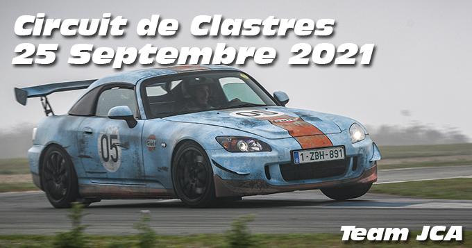 Photos au Circuit de Clastres le 25 Septembre 2021 avec Team JCA