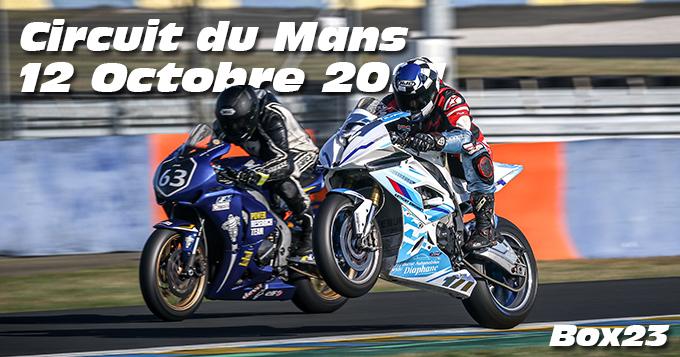 Photos au Circuit du Mans le 12 Octobre 2021 avec Box 23